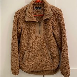 Abercrombie & Fitch Soft Sherpa- Small